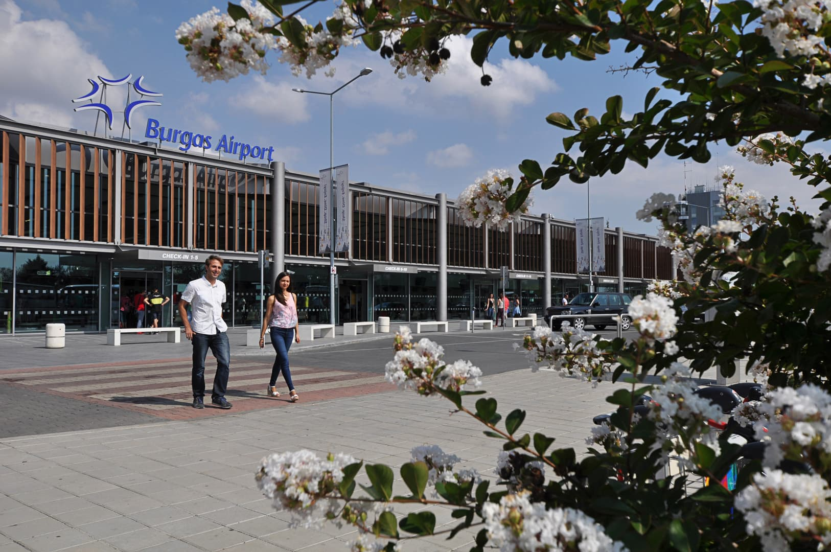 burgas airport new
